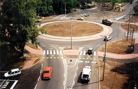 Százhalombatta körforgalmú csomópont