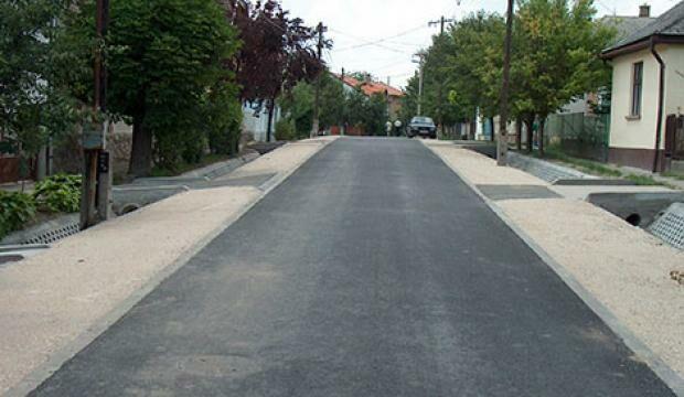 Bethlen G. utca és Kinizsi utca útépítés
