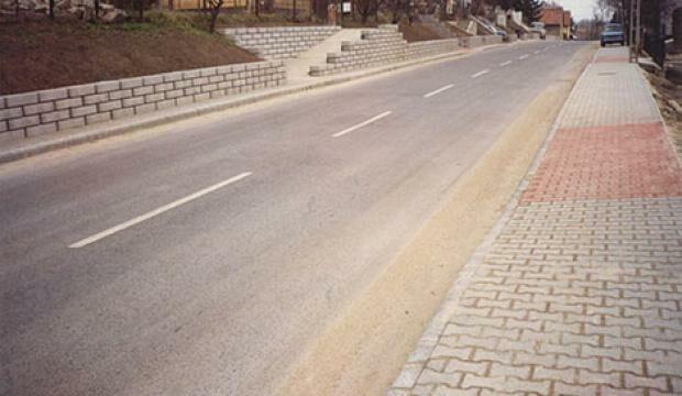 Százhalombatta, Szent László út rehabilitáció