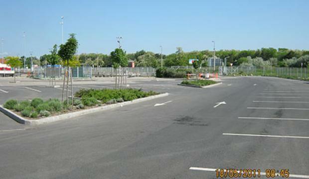 Vevőparkoló II. - 2011 bővítés