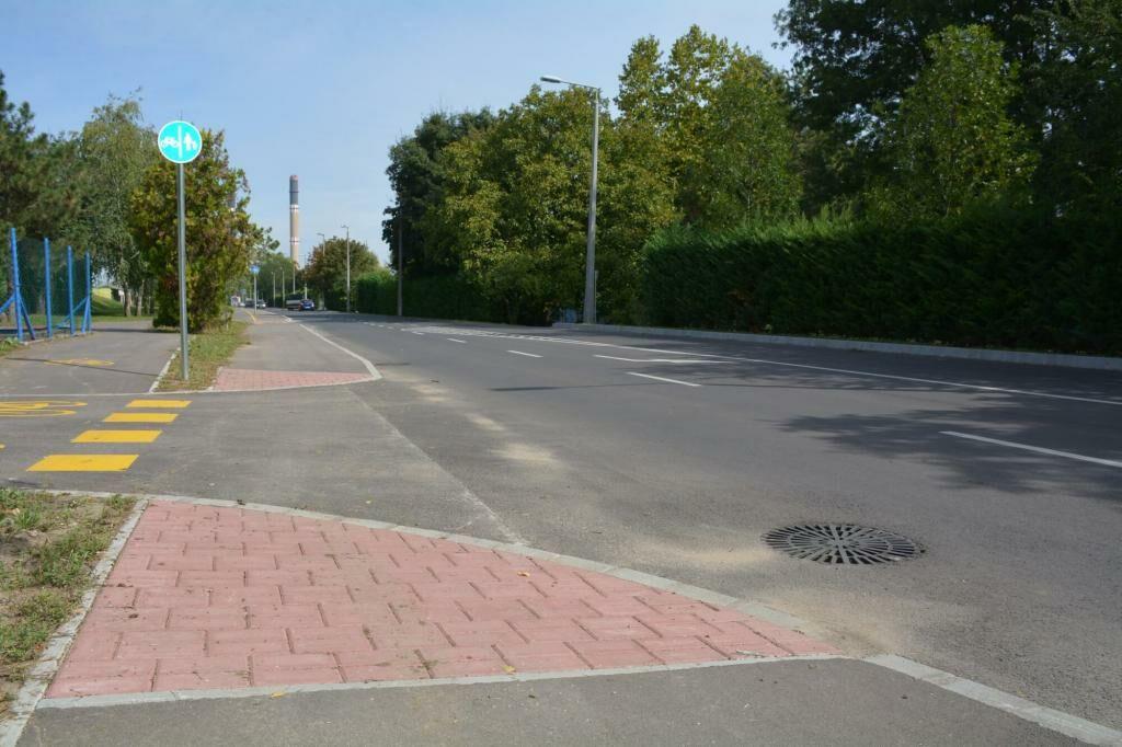 Dunafüredi út átépítése csapadékvíz elvezetéssel együtt